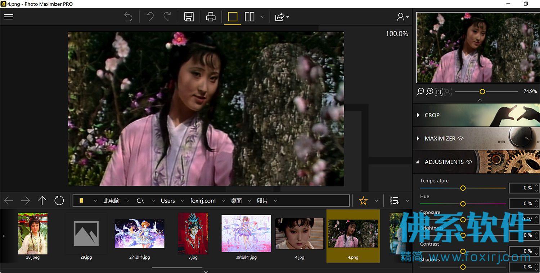 图片无损缩放软件InPixio Photo Maximizer Pro 英文直装版