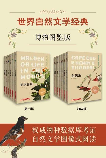 《世界自然文学经典:博物图鉴版(共12册)》[英]伊迪丝·霍尔登epub+mobi+azw3