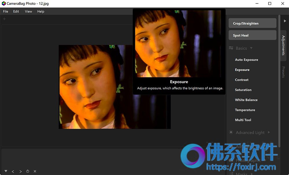 专业强大的照片滤镜编辑软件Nevercenter CameraBag Photo 英文破解版