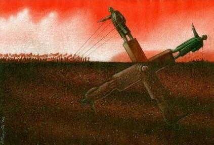 愚民们以为革命能推翻一个暴君的政权,其实只是为另一个暴君的执政铺路。