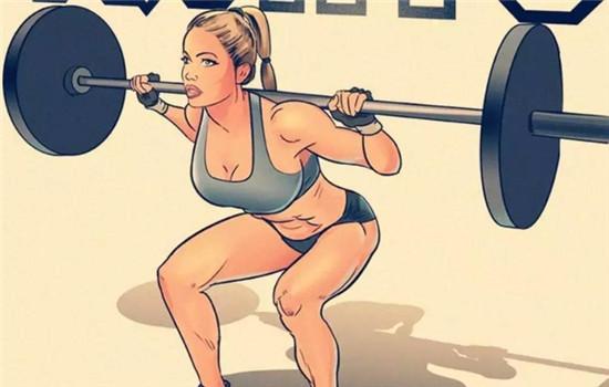 怎样让屁股更翘 深蹲锻炼臀大肌-追梦健身网
