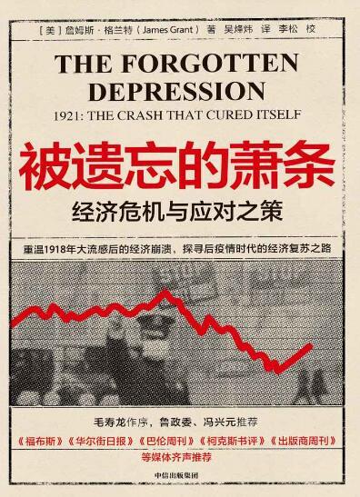 《被遗忘的萧条:经济危机与应对之策》詹姆斯·格兰特epub+mobi+azw3