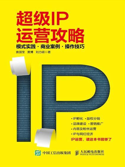 《超级IP运营攻略 模式实践 商业案例 操作技巧》袁国宝/黄博epub+mobi+azw3