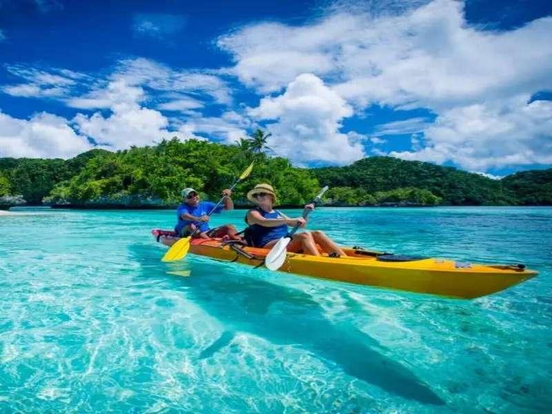 比马尔代夫更接近天堂的岛屿,帕劳! 国外旅游