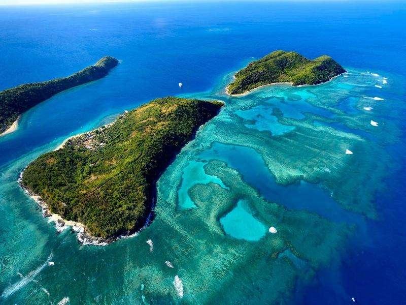 太平洋上的冷门景点 斐济 国外旅游