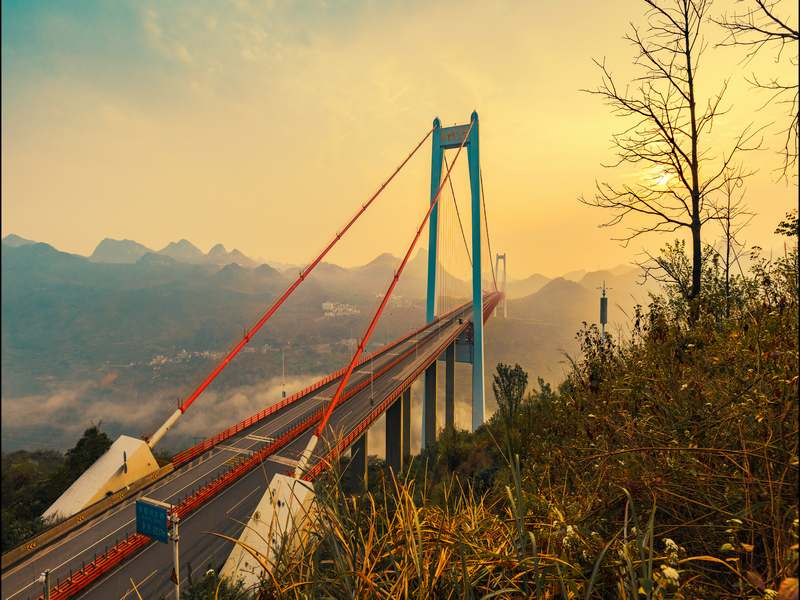 坝陵河大桥 1