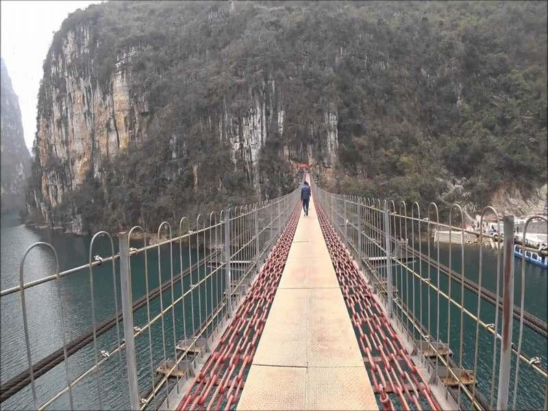 花江铁索桥 6