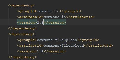 springmvc实现文件上传下载