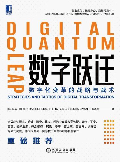 《数字跃迁:数字化变革的战略与战术》拉兹·海飞门epub+mobi+azw3