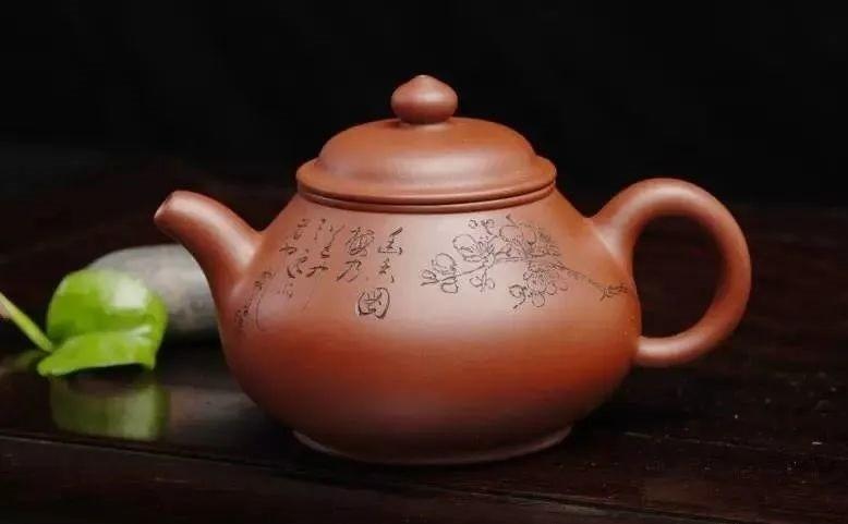 一个紫砂壶的图片