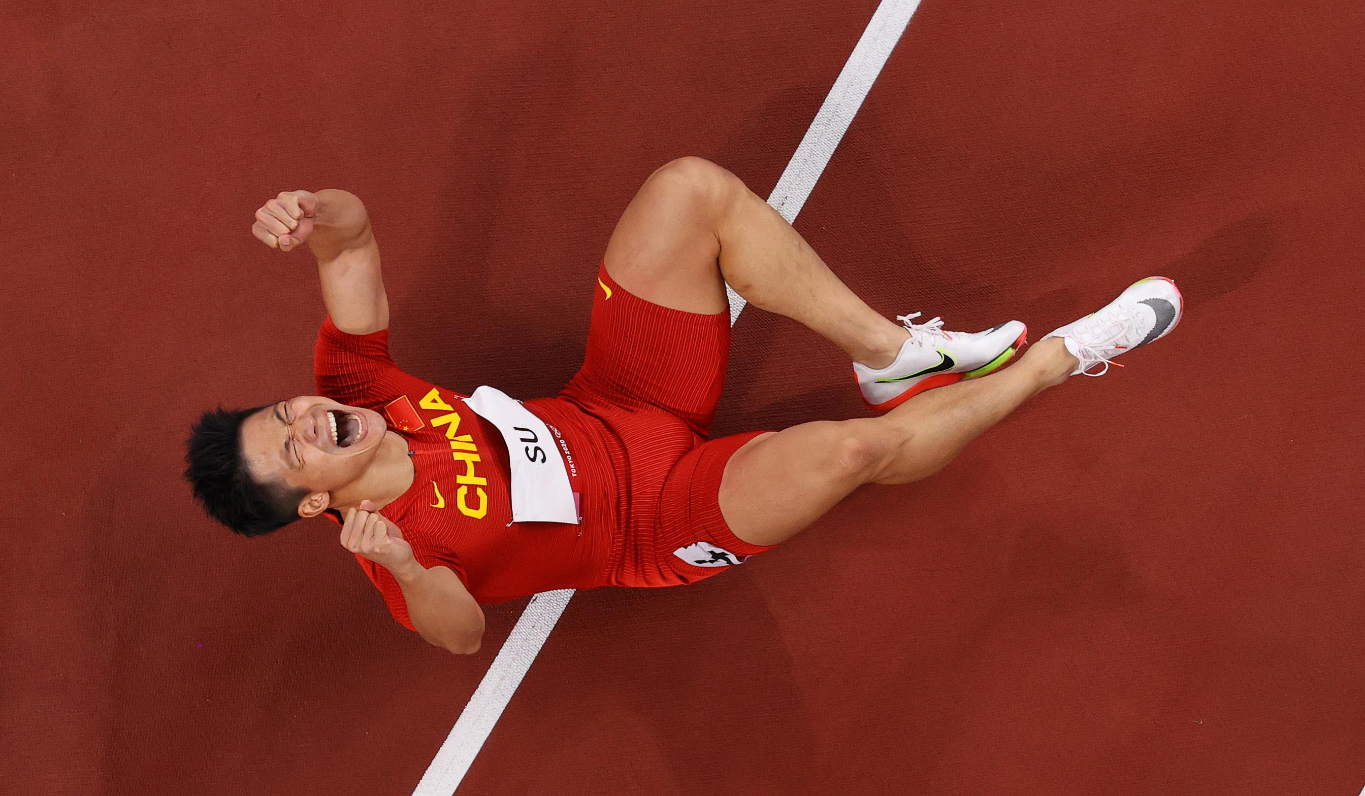 9秒83!亚洲纪录!历史第一人!苏炳添闯入男子百米决赛