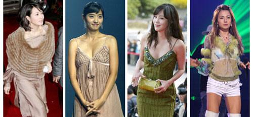韩国女星喜欢什么颜色的衣服-幽兰花香