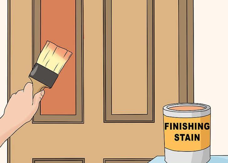 如何清洁木门