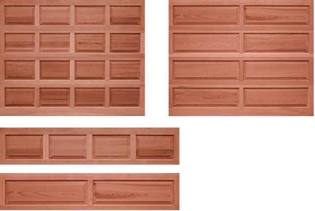 经典木质车库门