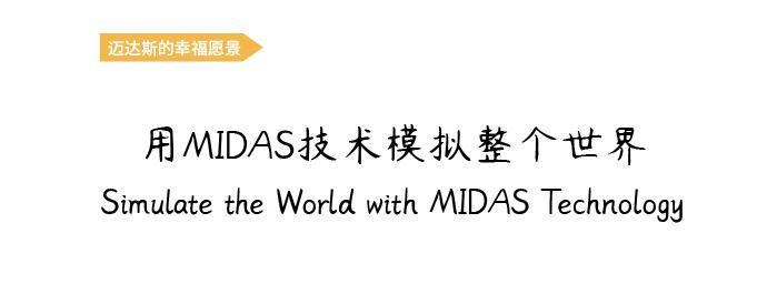 用MIDAS技术模拟整个世界
