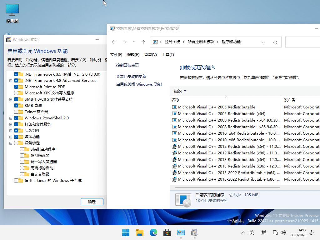 小修Windows11 v22471.1000精简版