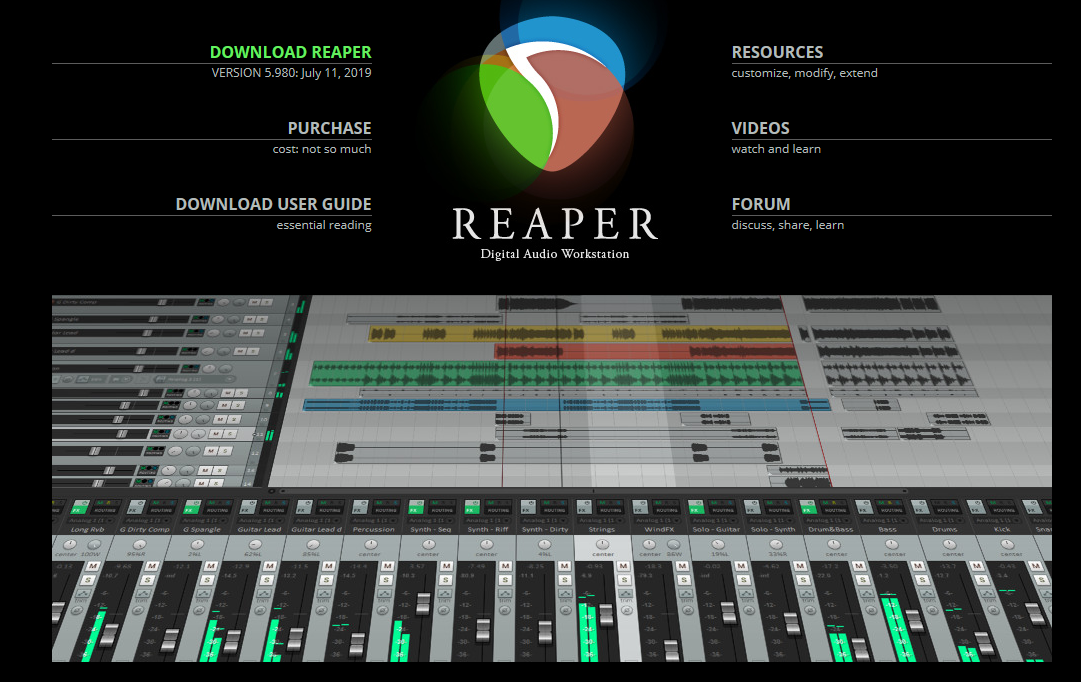 REAPER 音频编辑器 Mac版-特务兔