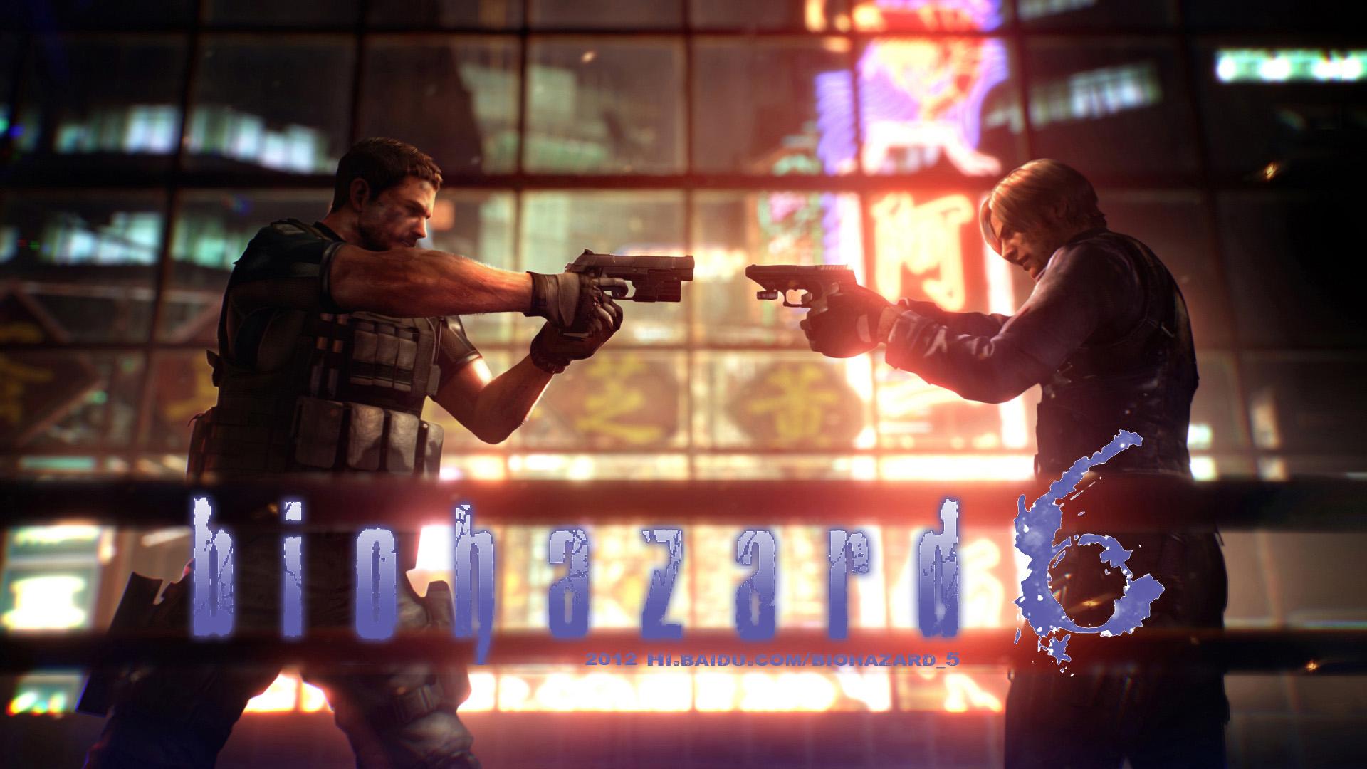 生化危机6 Resident Evil 6 Mac版-特务兔